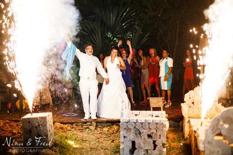 fête mariage de Sarah et Sonel