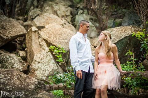 photographie du couple Gaelle et Miguel