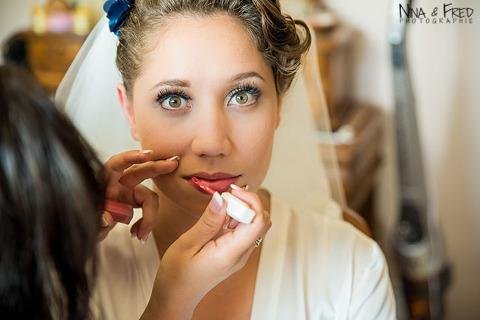 maquillage mariée Emilie