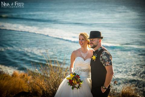 photo de couple mariage L&C