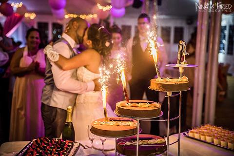 gâteau du mariage d'Audrey et Stephane