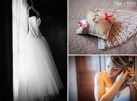photo robe de mariée de Laura