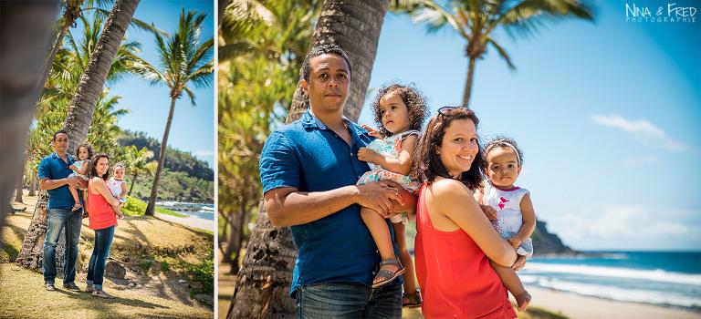 séance photo à la Réunion famille Zettor