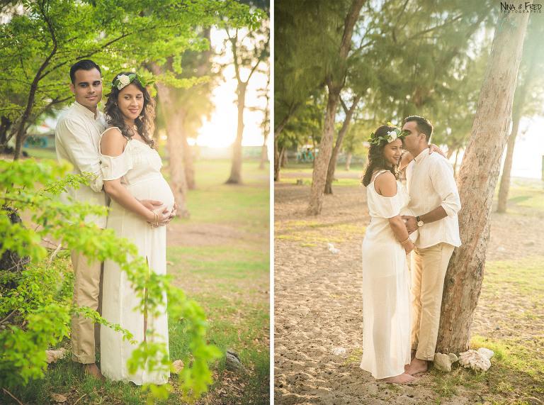 photos de grossesse E&K