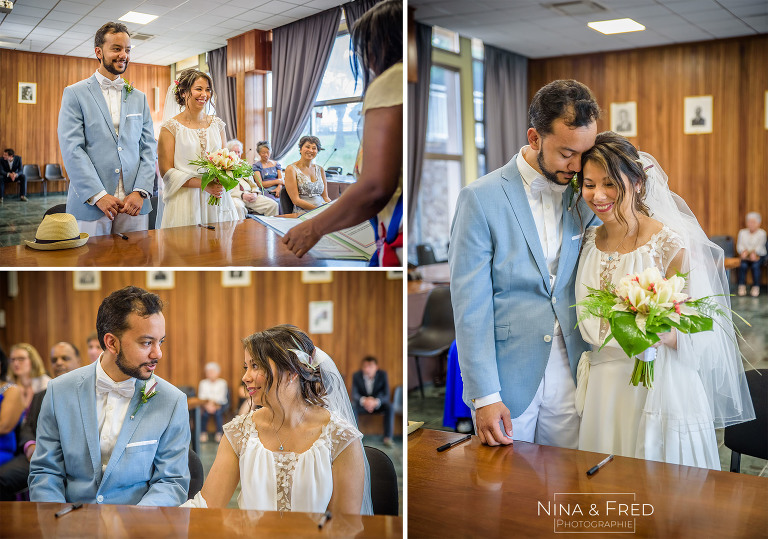 reportage photo mairie mariage S&A