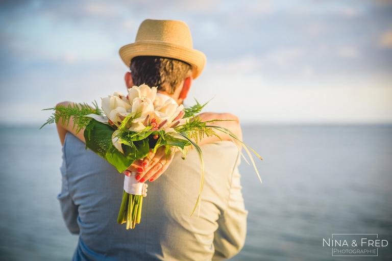 Bouquet de mariée à la réunion S&A