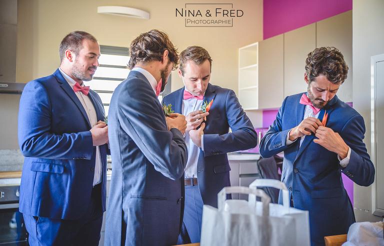 photo garçons d'honneur du mariage d'A&G