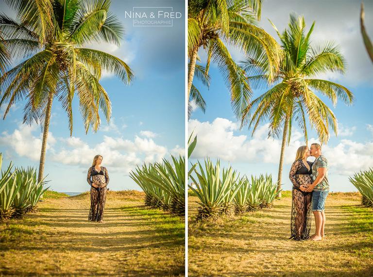 femme enceinte Réunion tropiques A&R