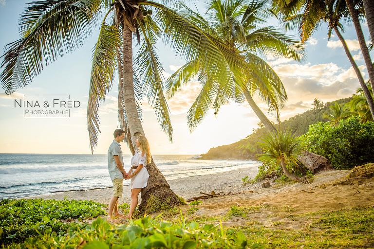 séance photo couple vacances Réunion