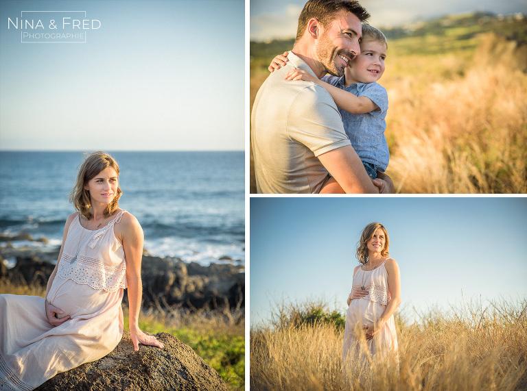 photos famille et grossesse E&M&A