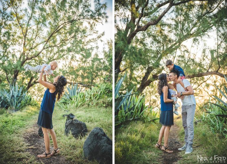 photos de famille à la Réunion G2