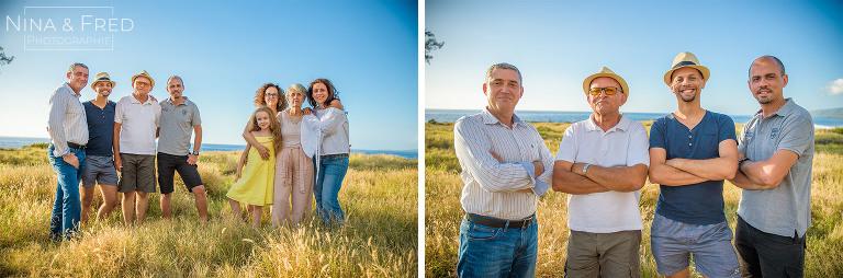 photos famille 3 générations Réunion AU