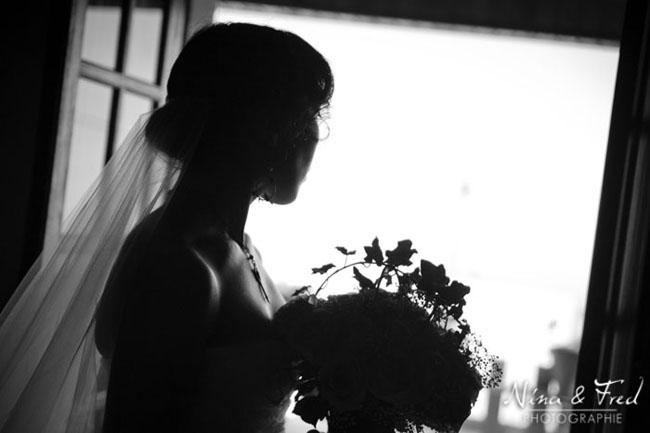 mariee en noir et blanc m&d