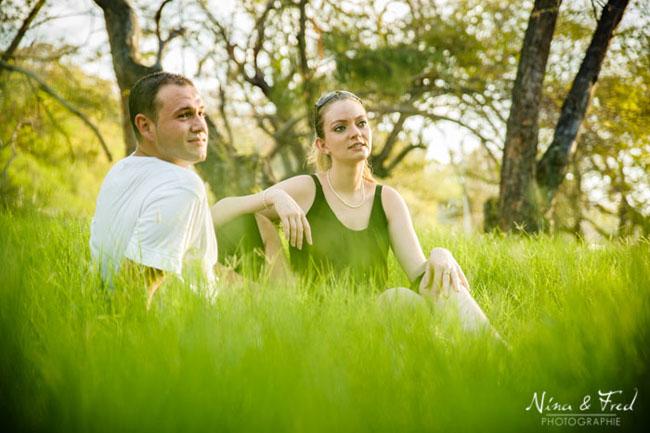 Élodie et Aurélien photo dans l