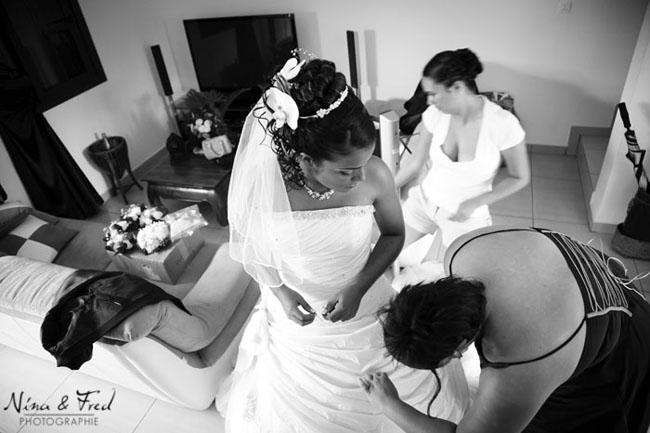 mariage karen johan robe
