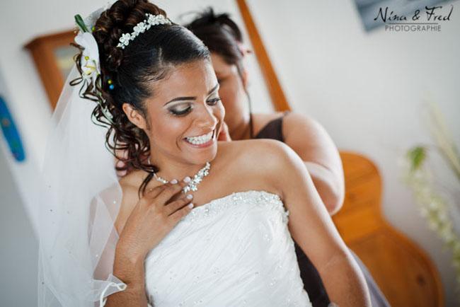 mariage karen johan mariée