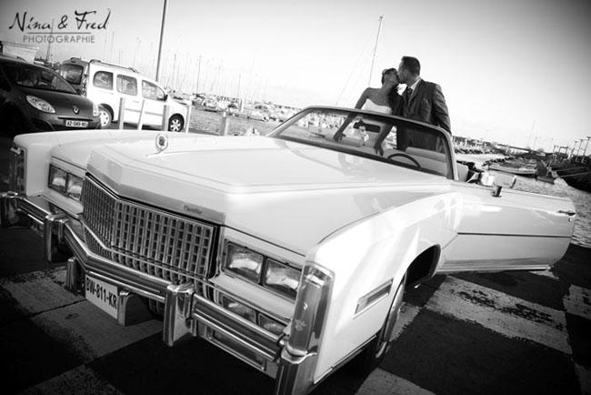 voiture du mariage de cindy et jerome
