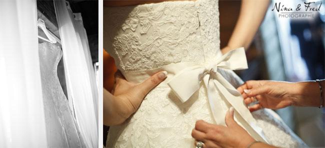 mariage audrey et HC robe