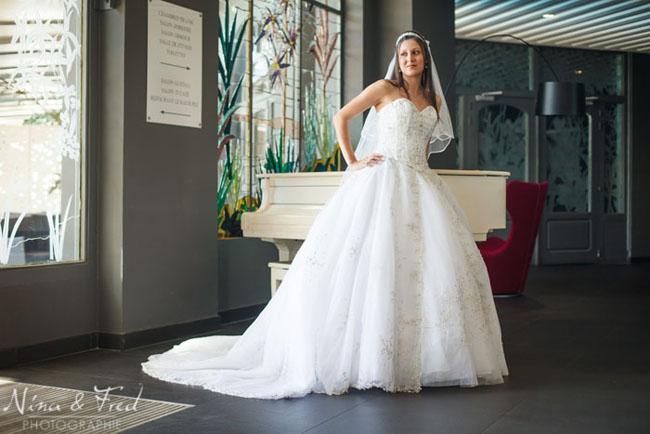 Vanessa et Paolo la mariée