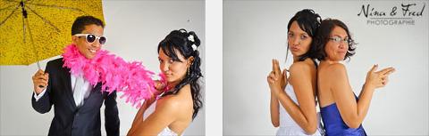 studio photo soirée mariage Sarah Denis