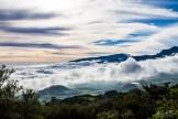 vue de la route du volcan
