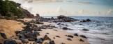plage abandonnée à Saint Martin