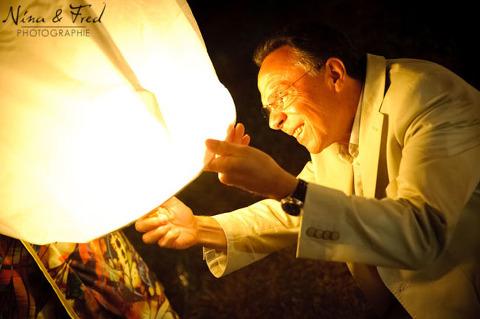 lanterne de mariage Maelle et Loïc