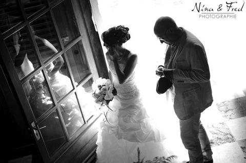 photographie noir et blanc mariage de Maelle et Loïc