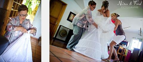 photographie de mariage préparatifs Maelle