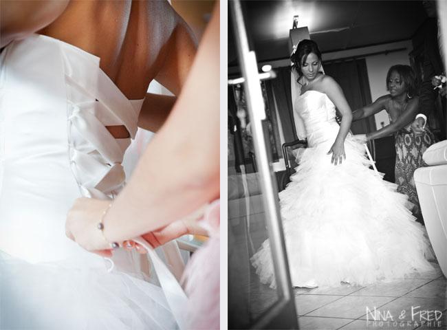 robe de la mariée Maud et Julien
