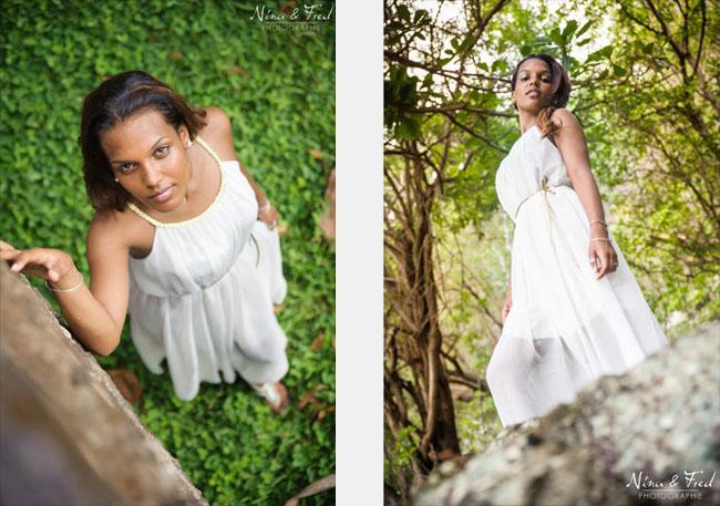 deux photos de Nelcy