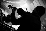 violoniste à la soirée