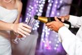 service du champagne