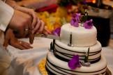 découpe du gâteau