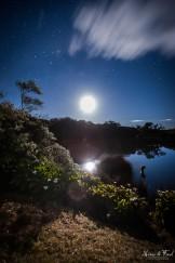 paysage nocturne piton de l