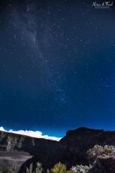 paysage nocturne île de la Réunion