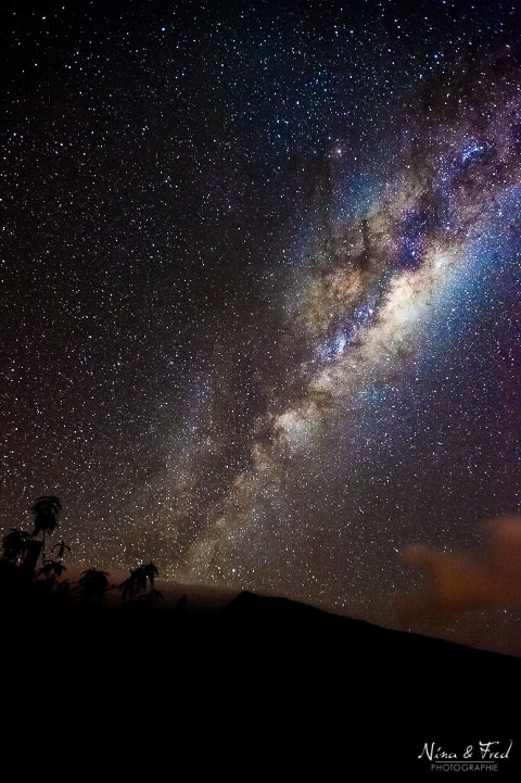 photographie de la voie lactée