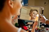 mariée dans le miroir