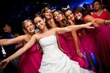 mariée et ses amies