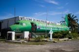 Bar-avion à Saint Martin