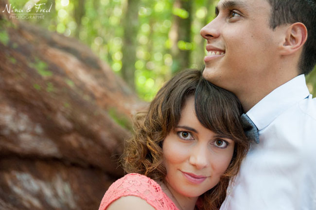 portrait de couple de Lucie et Yann