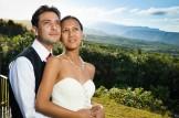 Mariés dos à la Réunion