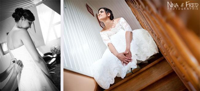 photographies de la mariée Evelyne