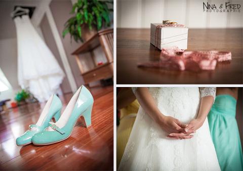 accessoires de la mariée Evelyne
