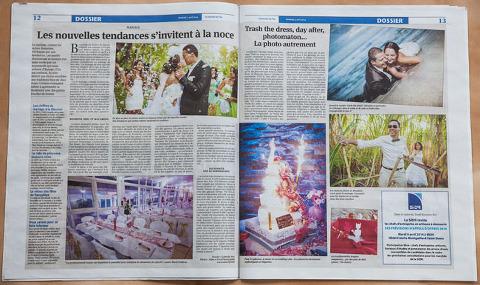 article spécial mariage à la Réunion