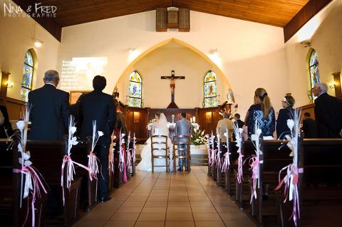 cérémonie du mariage d'Elodie et Aurélien