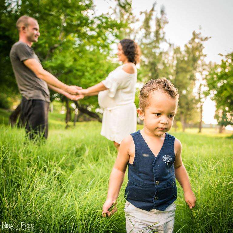 grossesse et famille photo