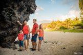 famille sur la plage 974