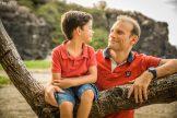 papa et fils séance photo