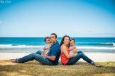 photo famille mer Réunion